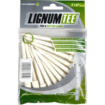 Ти Lignum'21 3-1/8 (12шт) пластиковые (82мм) WHITE LI6200001
