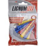 Ти Lignum'21 2-1/2 (16шт) пластиковые (62мм) MIX LI6200006