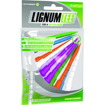 Ти Lignum'21 3-1/8 (12шт) пластиковые (82mm) NEON LI6200029