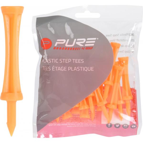 Ти P2I'21  2.72 (25шт) пластиковые (69мм) NEON ORANGE P2I641400
