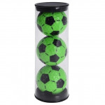 Мяч Legend'21 SOCCER (lime/black) (3шт/уп)  LE2200026