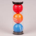Мяч Legend'21  HAPPY BIRTHDAY (3шт/уп) tubus LE2200040