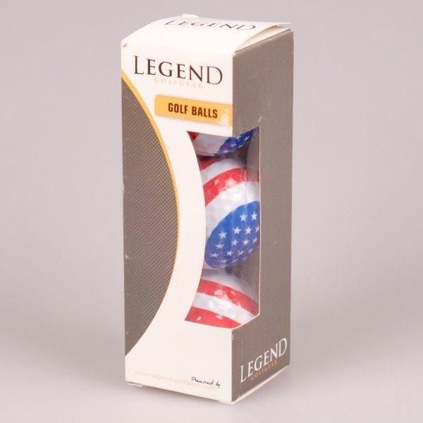 Мяч Legend'21 AMERICAN FLAG (3шт/уп)  LE2200018
