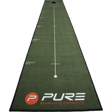 Дорожка д/патта P2I'21  Golf Putting mat 400*66 P2I140060