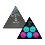 Подарочный набор мячей Volvik'21  Alien (5шт/уп + маркер) VV0000717