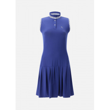 Платье б/р (жен) комбинир. с шортами Chervo'21 JETSET (567) синий, 64865