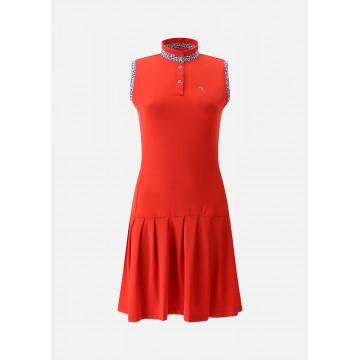 Платье б/р (жен) комбинир. с шортами Chervo'21 JETSET (820) красный, 64865
