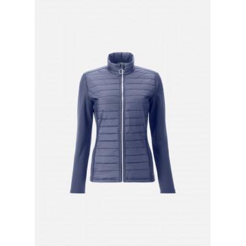 Куртка (жен) Chervo'21 PROFUMO (576) темно-синий/принт, 65111