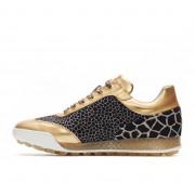 Ботинки (жен) DDC'21 Marquessa (животный принт/золотой) 110301-6038