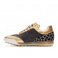 Ботинки (жен) DDC'21 Marquessa (животный принт/золотой) 110301-6036