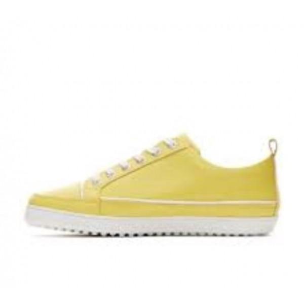 Ботинки (жен) DDC'21 Festiva (желтый) 121017-15137