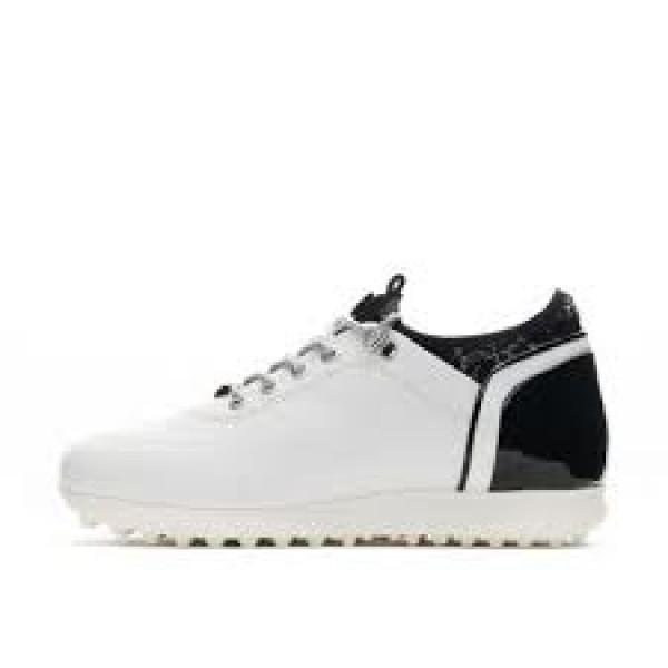 Ботинки (жен) DDC'21 Pose (белый/черный) 111201-0036