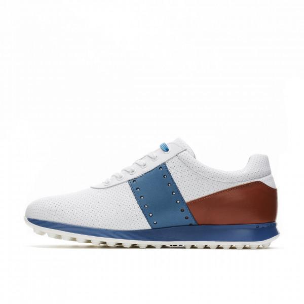 Ботинки (муж) DDC'21 Belair (белый/коричневый) 120701-1644