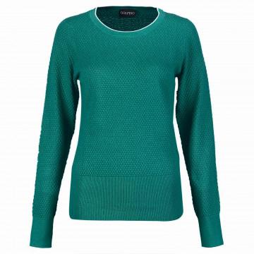 Пуловер (жен) Golfino'21 6310121 (667) зеленый
