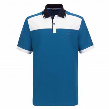 Поло (муж) Golfino'21 6330712 (558) белый/синий