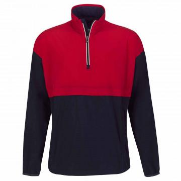 Пуловер на молнии (муж) Golfino'21 6350712 (575) синий