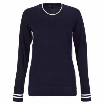 Пуловер (жен) Golfino'21 6318122 (580) темно-синий