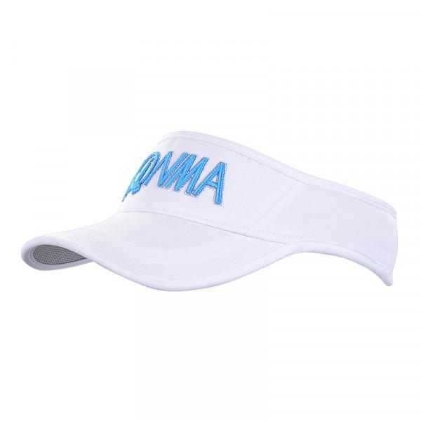 Козырек (жен) Honma'21  836312672 (белый/голубой)