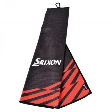 Полотенце Srixon'21 TRIFOLD (черный/красный) 12118447