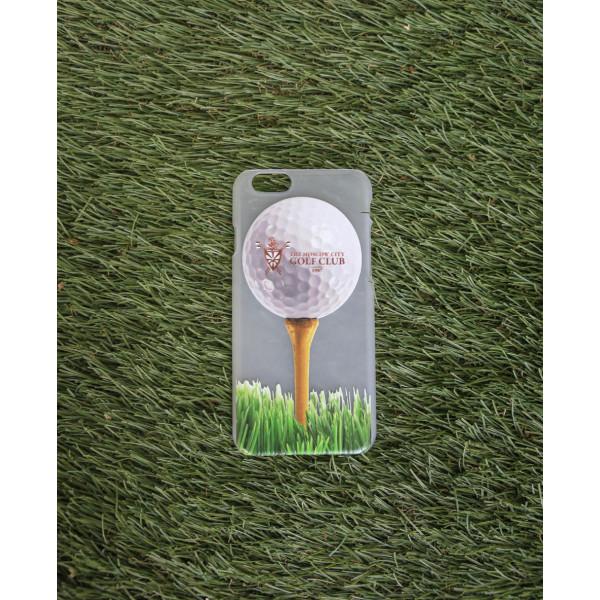 Чехол iphone 6/ Лого на мяче (матовый) МГГК