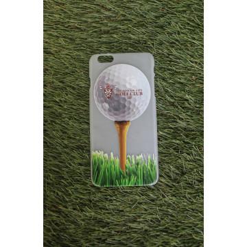 Чехол iphone 6+/ Лого на мяче (матовый) МГГК