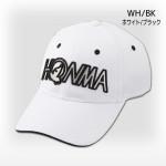 Бейсболка Honma'9  931733621 (001) белый/черный