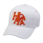Бейсболка Honma'9  831315621 (013) белый/оранжевый
