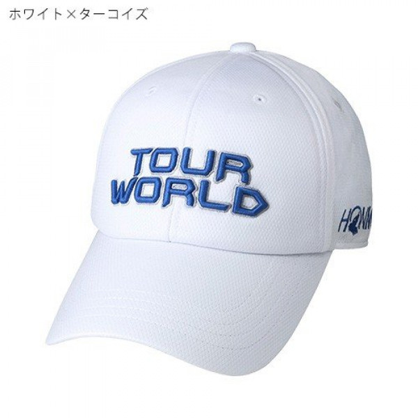 Бейсболка Honma'9  831419601 (042) белый/синий