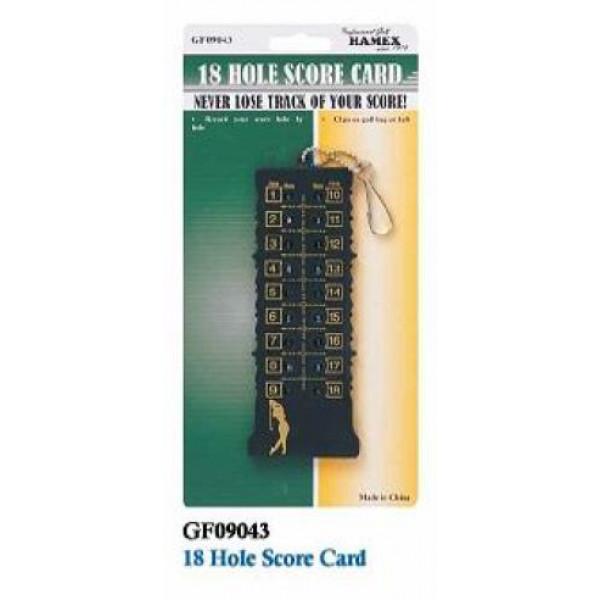 Карта игрока GF09043 18 Hole Score Card