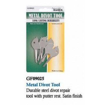 Вилка+ключ д/шипов Hanimex 3 Metal Divot Tool