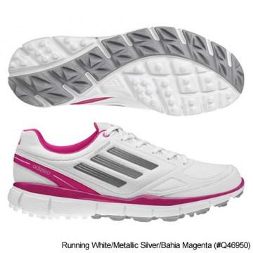 Ботинки (жен) Adidas'4 Adizero (белый-розовый) 46950