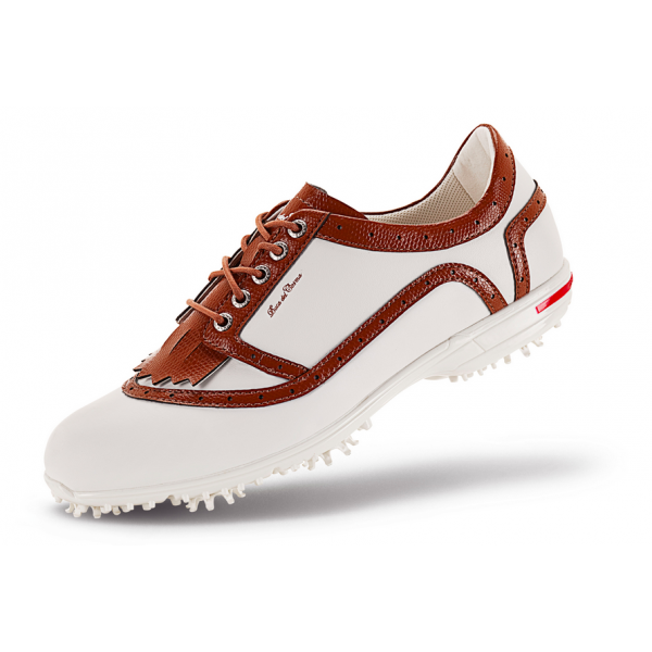 Ботинки (жен) DDC'5 Verona (белый-коричневый) 20266