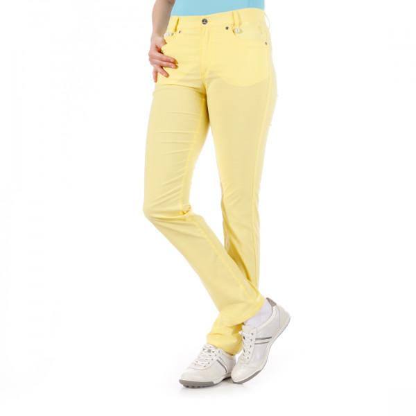 Брюки (жен) Golfino'4 Slim fit желтый (202) 2269122