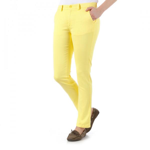 Брюки 7/8 (жен) Golfino'4 Slim fit желтый (202) 2266723