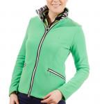 Кофта (жен) Golfino'4  Fleece зеленый (652) 2220622