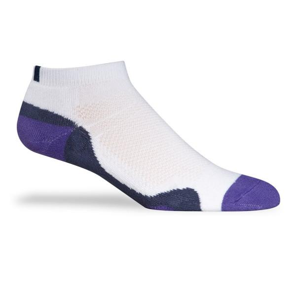 Носки (жен) Adidas'4  6201501 (белый/фиолетовый)