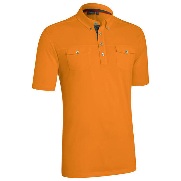 Поло (муж) Ashworth`14  84049 (с карманом) оранжевый