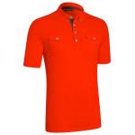 Поло (муж) Ashworth`14  75988 (с карманом) красный
