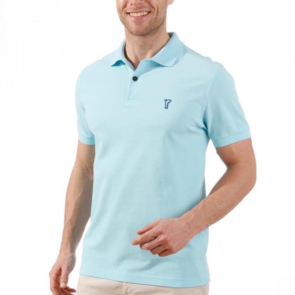 Поло (муж) Golfino Cotton 2232112 (559) голубой