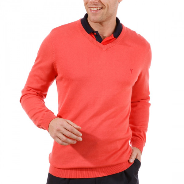 Пуловер (муж) Golfino 2216012 (363) красный