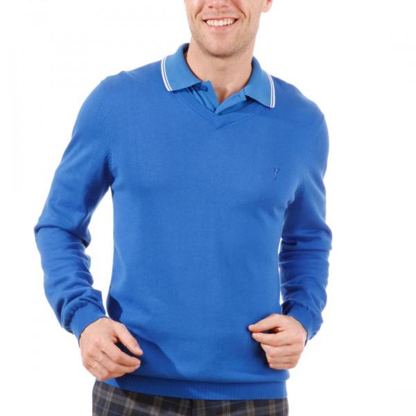 Пуловер (муж) Golfino 2216012 (549) синий