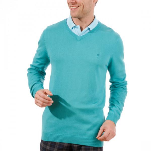 Пуловер (муж) Golfino 2216012 (625) бирюзовый