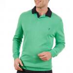 Пуловер (муж) Golfino 2216012 (653) зеленый