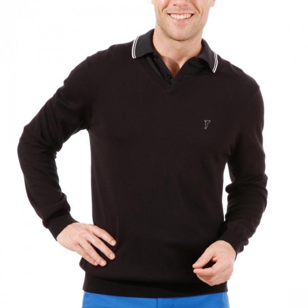 Пуловер (муж) Golfino 2216012 (890) черный
