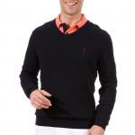 Пуловер (муж) Golfino 2210512 (580) темно-синий