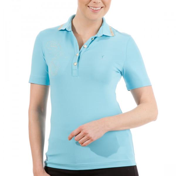 Поло (жен) Golfino'4  2236623 (562) голубой