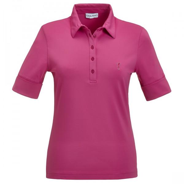 Поло (жен) Golfino'5 фиолетовый (410) 4239122