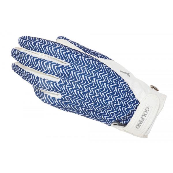 Перчатка (жен) Golfino'16 4272122/100 (белый с рисунком) LH