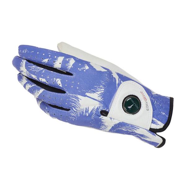 Перчатка (жен) Golfino'16 4272423/100 (белый с рисунком) LH