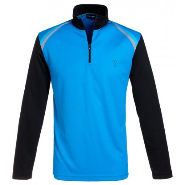 Кофта-тройер (муж) Golfino'16  7232314 (515) голубой/черный